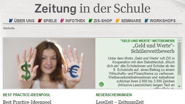 """Auszeichnung für """"Zeitung in der Schule"""" (Bild: zis.at)"""