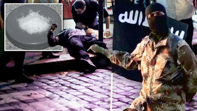 Chemnitz-Sprengstoff auch bei Paris-Terror genutzt (Bild: APA/AFP/ANTHONY DORFMANN, Wikipedia, Twitter.com)
