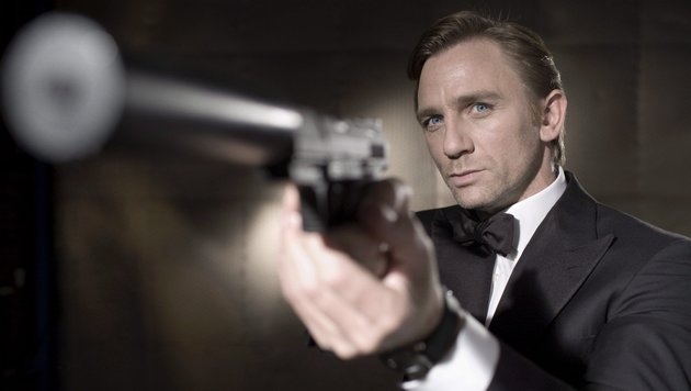 Daniel Craig als James Bond (Bild: EPA)
