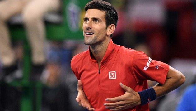 Djokovic mit erfolgreichem Comeback in Shanghai (Bild: APA/AFP/WANG ZHAO)