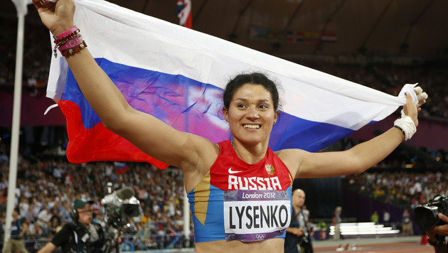 Hammerwerferin Lysenko verliert Olympia-Gold 2012 (Bild: Associated Press)
