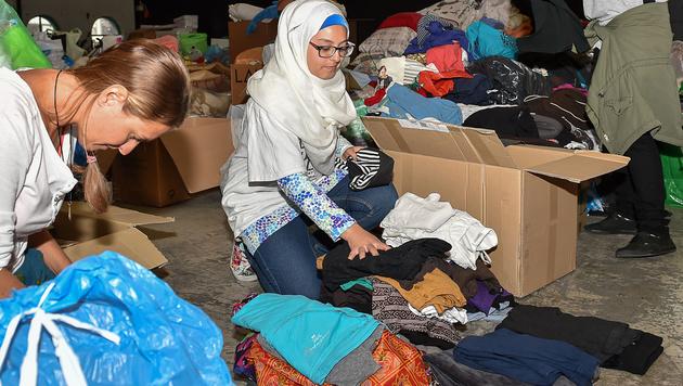 """Pfarrer: """"Spenden, aber nicht für Flüchtlinge!"""" (Bild: APA/HARALD DOSTAL)"""