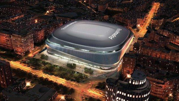 Real Madrid peppt Bernabeu-Stadion um 400 Mio. auf (Bild: APA/AFP/REAL MADRID/REALMADRID.COM)
