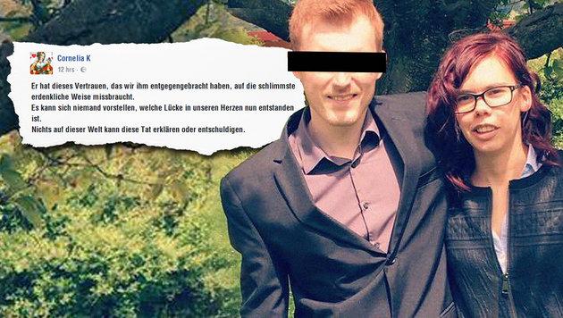 Die Schwester der ermordeten Claudia K. postete eine berührende Nachricht auf Facebook. (Bild: facebook.com)
