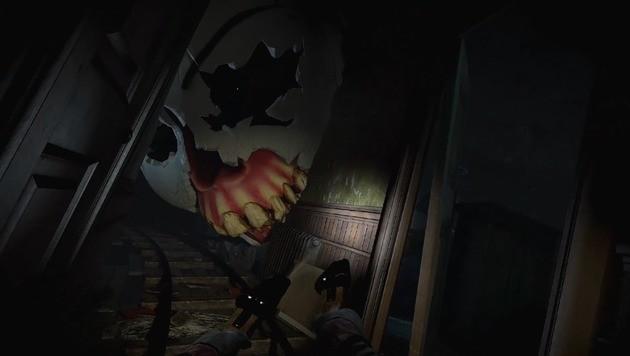 """Großartig gruselig inszeniert: der Rail-Shooter """"Until Dawn: Rush of Blood"""". (Bild: Sony)"""