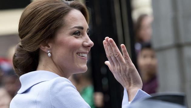 Kate begeisterte in den Niederlanden alle. (Bild: AP)