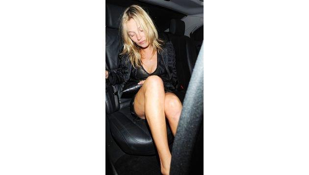 Kate Moss machte immer wieder mit ihrem Drogen- und Alkoholkonsum Schlagzeilen. (Bild: Viennareport)