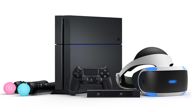 PS4 und PS4 Camera sind für PlayStation VR Pflicht, die Move-Controller bei manchen Spielen. (Bild: Sony)