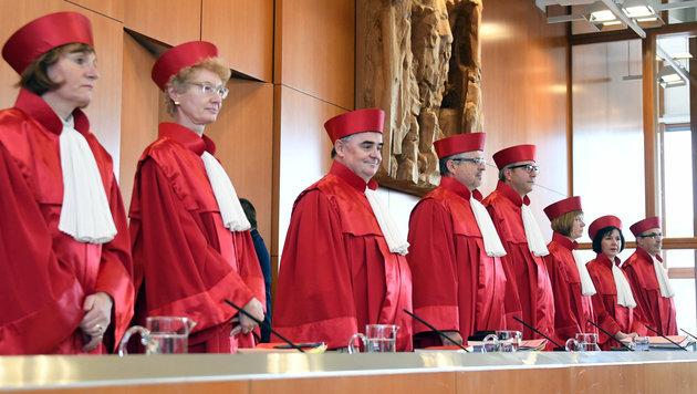 Das deutsche Bundesverfassungsgericht verhandelt über das Handelsabkommen CETA. (Bild: APA/dpa/Uli Deck)