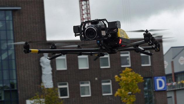 Diese Drohne holt nichts so schnell vom Himmel (Bild: Dominik Erlinger)