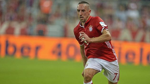 """Hitzkopf Ribery: """"Gegner wollen mich verletzen"""" (Bild: GEPA)"""