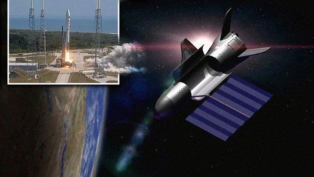 Mysteriöses US-Shuttle seit über 500 Tagen im All (Bild: United Launch Alliance)