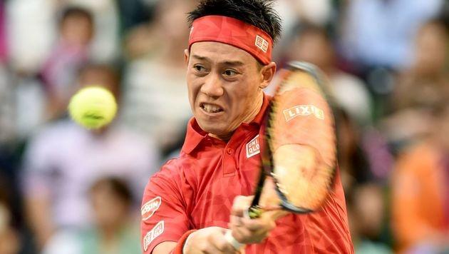 Nishikori als fünfter Spieler fix in London (Bild: APA/AFP/TORU YAMANAKA)
