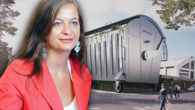 "Wien: Stadträtin Sima schweigt zu ""Mistkübel-Büro"" (Bild: Falter, APA/HERBERT NEUBAUER)"