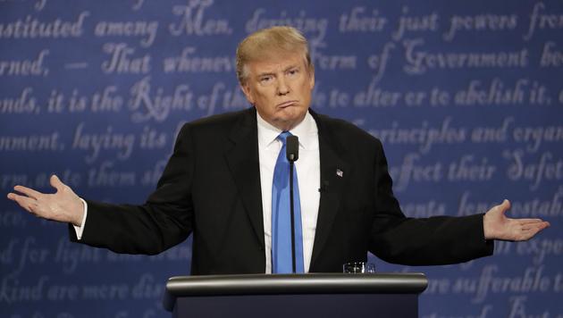 US-Wahlkampf: Trump wütet gegen die eigene Partei (Bild: The Associated Press)