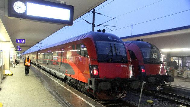 Züge am Wiener Westbahnhof (Bild: Andi Schiel)