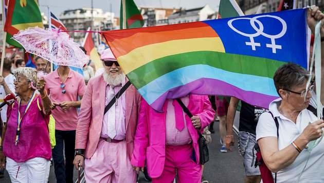 "Die ""EuroPride"" 2016 fand in Amsterdam statt. (Bild: APA/AFP/ANP/REMKO DE WAAL)"