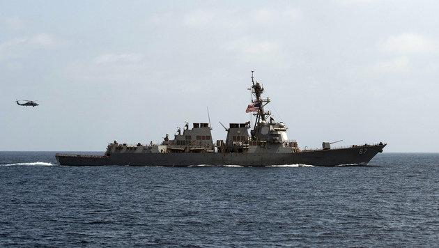 Die Raketenangriffe erfolgten von der USS Mason aus. (Bild: ASSOCIATED PRESS)