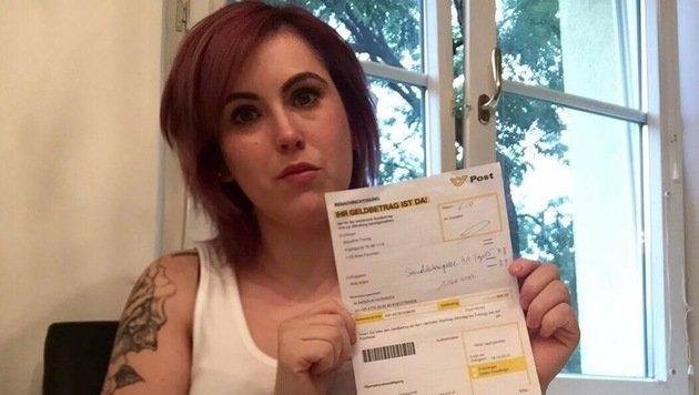 """""""Unbürokratische Hilfe: Jaqui erhielt ihr Geld! (Bild: Privat)"""""""
