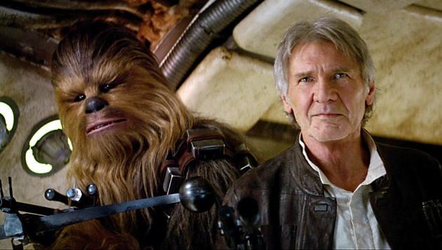 Harrison Ford als Han Solo (Bild: Viennareport)