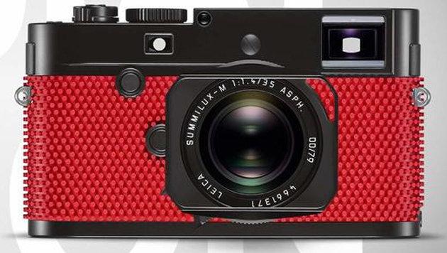 15.000-Dollar-Kamera kommt im Tischtennis-Look (Bild: Leica)