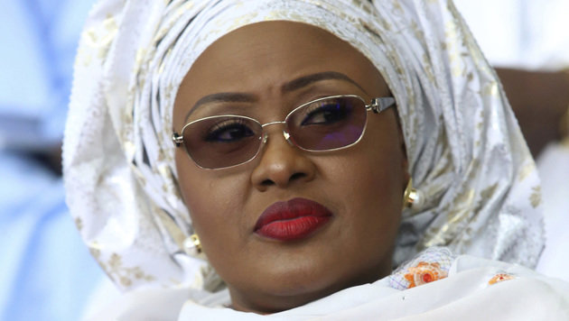 Nigerias First Lady, Aisha Buhari (Bild: The Associated Press)