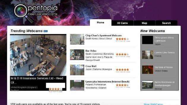 """""""6 gruselige Websites, die ihr nie besuchen solltet (Bild: www.opentopia.com)"""""""