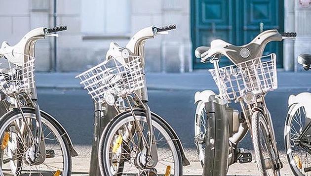 In Paris werden die City Bikes Velibs genannt. (Bild: instagram.com/velib)