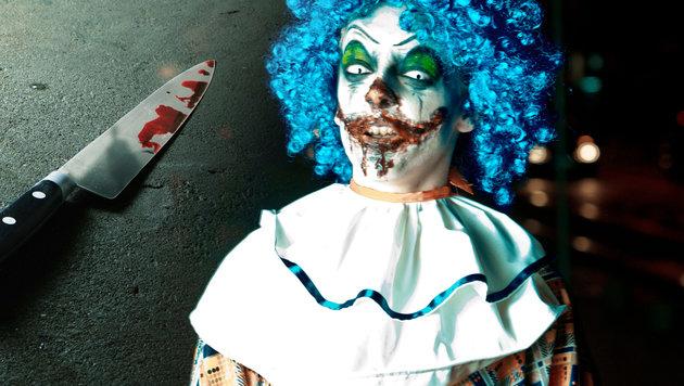 Clown-Terror erfasst nun auch Schweden (Bild: thinkstockphotos.de)