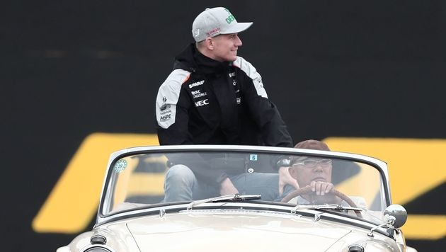 Hülkenbergs Wechsel zu Renault nimmt Formen an (Bild: APA/AFP/BEHROUZ MEHRI)