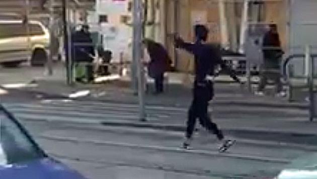 Asylwerber wirft sich in Wien vor Straßenbahn (Bild: Facebook.com/Betül Arslan)