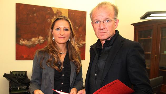 Daniel L.s Anwälte Iris Augendoppler und Ernst Schillhammer (Bild: Andi Schiel)