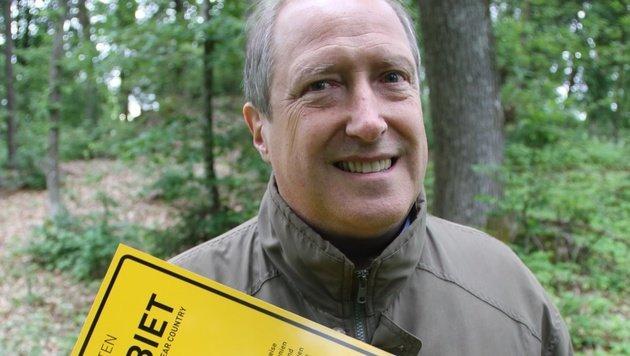 """Rolf Holub: """"Wir hatten noch nie einen Problembären."""" (Bild: Hannes Wallner)"""