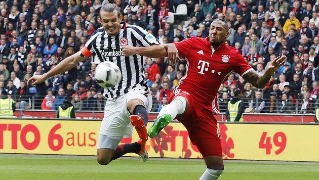 Bayern in der Krise! Trotz Überzahl nur 2:2-Remis (Bild: AP)