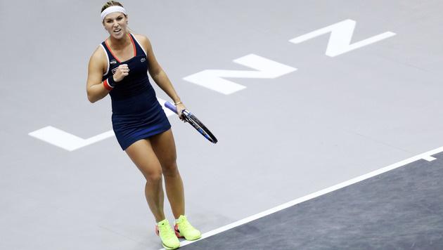 Cibulkova kämpft sich in 2. Linz-Finale nach 2011 (Bild: GEPA)