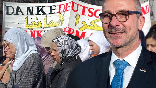 """Grün-Politiker: """"Deutsche sollen Arabisch lernen"""" (Bild: APA/dpa Bernd von Jutrczenka, dpa/Stephanie Pilick)"""