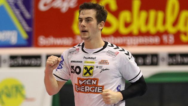 Handball: Fivers gewinnen Wiener Derby (Bild: GEPA)