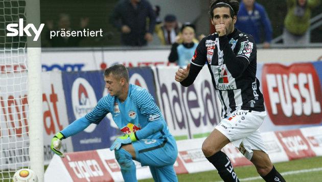 Salzburg verschenkt Sieg gegen den WAC - das Video (Bild: APA/GERT EGGENBERGER)