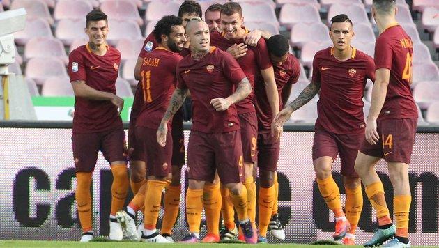 Sieg im Schlager! Roma ist bereit für die Austria (Bild: APA/AFP/CARLO HERMANN)