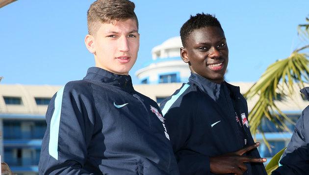 Vitaly Janelt (links) und Idrissa Toure (Bild: GEPA)