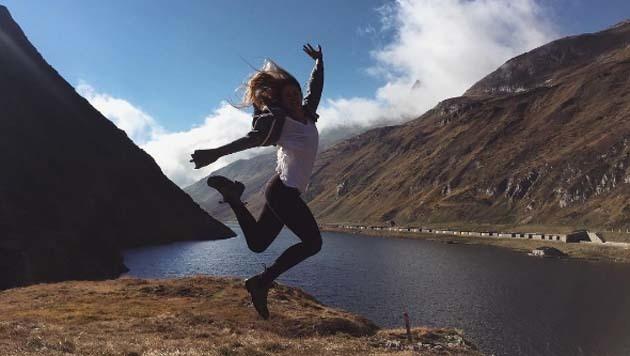 US-Skistar Resi Stiegler kann den Winter kaum erwarten! (Bild: instagram.com/Resi Stiegler)