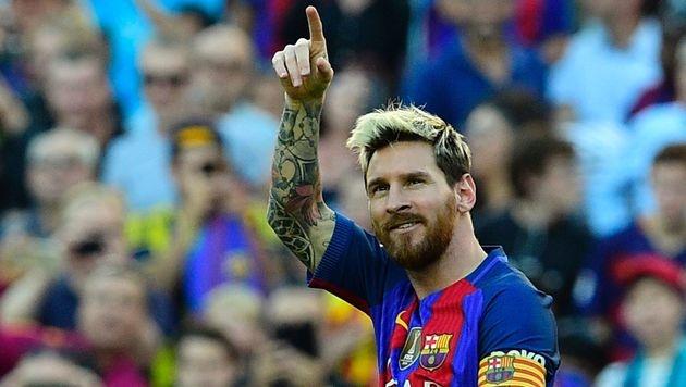 Traum-Comeback für Messi! Atletico mit Kantersieg (Bild: APA/AFP/LLUIS GENE)