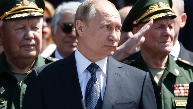 Trump hat bereits des Öfteren Russlands Präsidenten Wladimir Putin gelobt - und umgekehrt. (Bild: APA/AFP/Grigory Dukor)