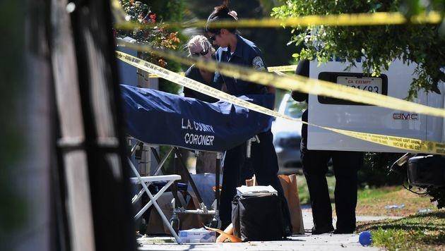 Drei Tote bei Blutbad auf Party in Los Angeles (Bild: APA/AFP/MARK RALSTON)