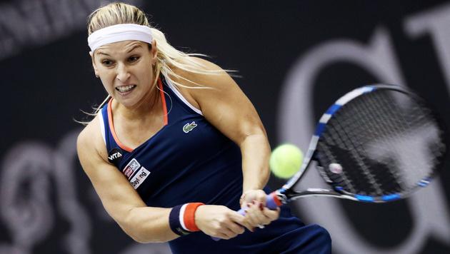 Cibulkova triumphiert im Linz-Finale gegen Golubic (Bild: GEPA)