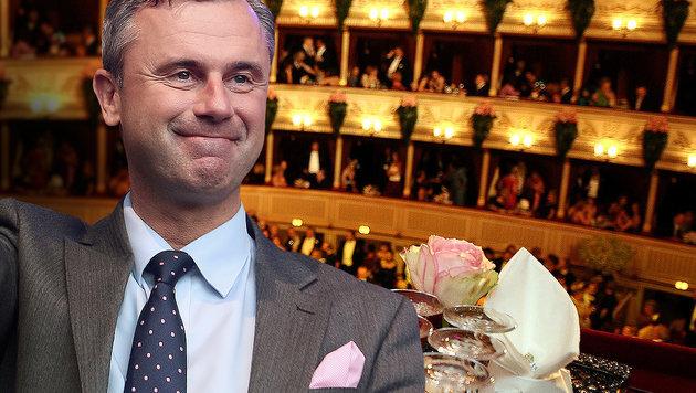 """Hofer will mit """"normalen Menschen"""" zum Opernball (Bild: APA/Barbara Gindl, AP)"""