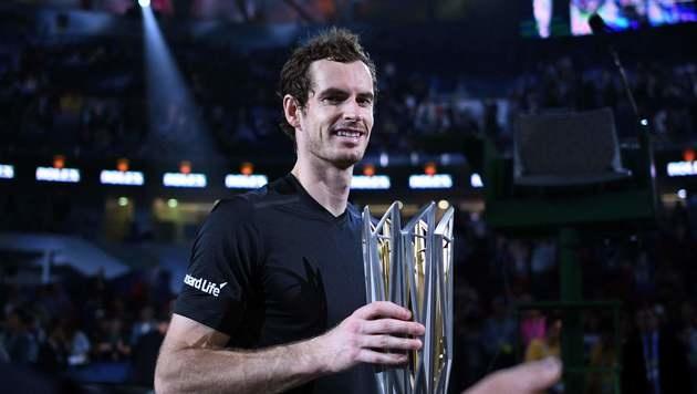 Murray siegt in Shanghai und rückt an Djokovic ran (Bild: AFP)