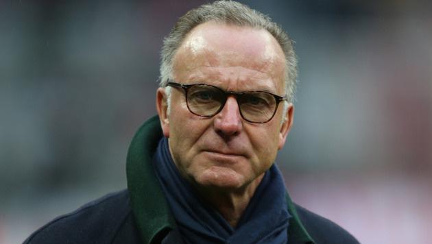 """Rummenigge erzürnt: """"Das war nicht Bayern München"""" (Bild: GEPA)"""