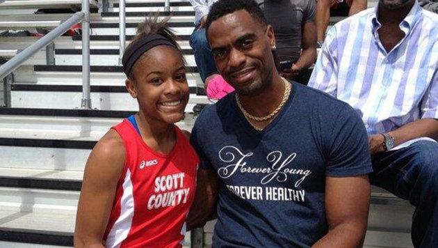 Tochter von Sprint-Star Tyson Gay erschossen (Bild: Facebook.com)