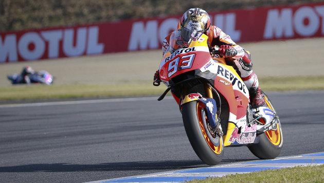 MotoGP: Marc Marquez sichert sich WM-Titel (Bild: AP)